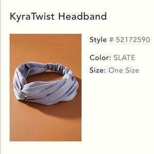 Anthropologie Silk Headband